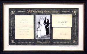 50th Wedding Anniversary Collage
