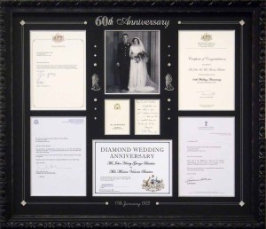 60th Wedding Anniversary Collage