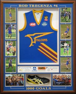Box Framed Football Shirt and Boot