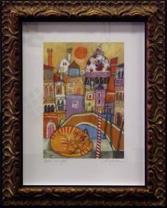 Box Framed Limited Edition Venice Print