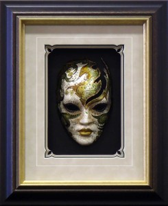 Box Framed Venetian Mask 2