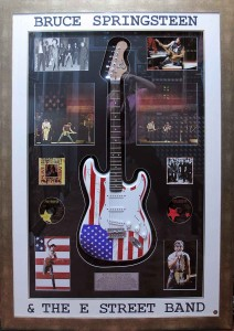 Bruce Springstein the E Street Band Guitar