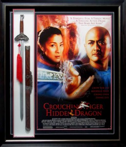 Crouching Tiger Poster and Sword1