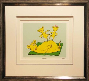 Dr Seuss Limited Edition Print