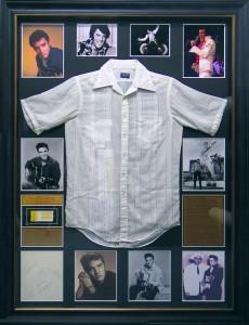 Elvis Presley Shirt Photo Collage