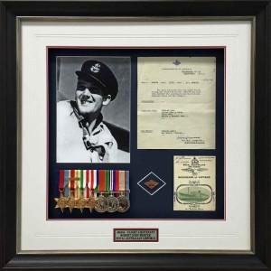 Framed Airforce Medals