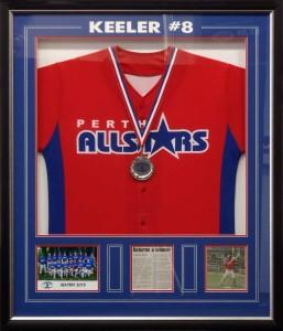 Framed Baseball Shirt