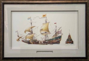 Framed Batavia Print