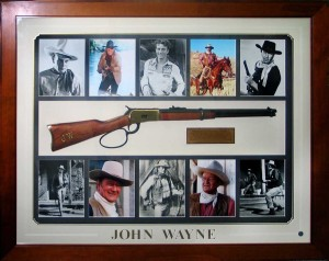 John Wayne Rifle Collage
