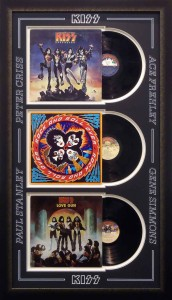 KISS Albums Name Cut outs