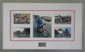 Motorcycle Photo Collage