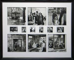 Paris Calander Photo Collage