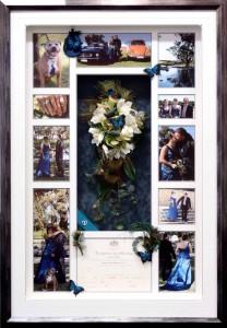 Wedding Bouquet Marrige Certificat Photo Collage1
