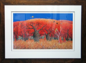 Triple-Matted-Windrum-Print