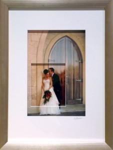 Wedding-Photo-with-Printed-Matt-board-Cut-out