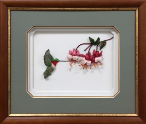 Framed-Embroidery