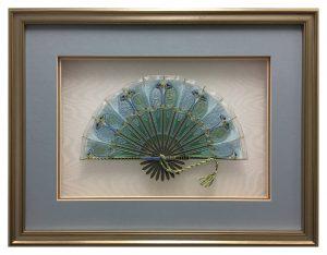 Framed-Embroidered-Fan