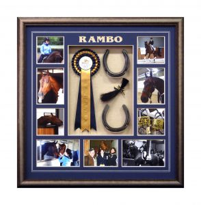 Framed-Horse-Collage
