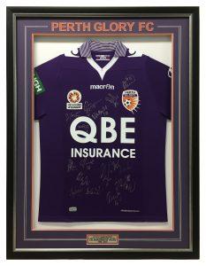 Framed-Perth-Glory-Shirt