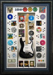 BLINK182 Guitar Collage