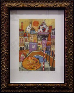Box Framed Limited Edition Venice Print