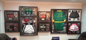 Boxing Hall of Fame Gloves Shorts Gowns
