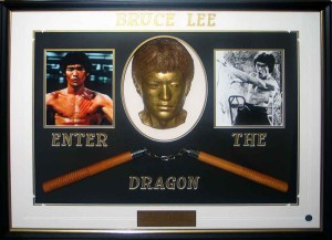 Bruce Lee Collage