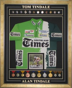 Cycling Shirt and Medals