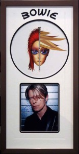 Framed David Bowie Picture LP