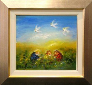 Framed David Boyde with Frame & Slip