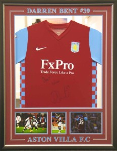 Double Sided Aston Villa Shirt Front