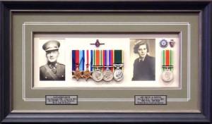 Dual Framed Medals