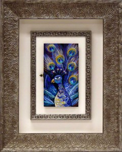 Framed Emma Blyth 9x5 Artwork with inner and outer frame
