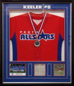 Framed Baseball Shirt