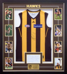 Framed Hawthorn Jumper Photo Collage