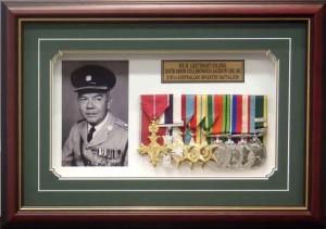 Framed War Medals 3