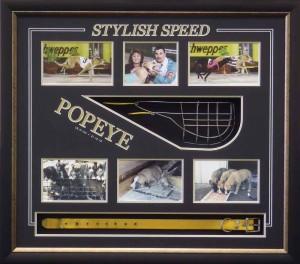 Framed Greyhound Racing Memorabilia