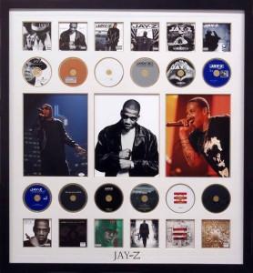 Framed Jay Z CD Complilation