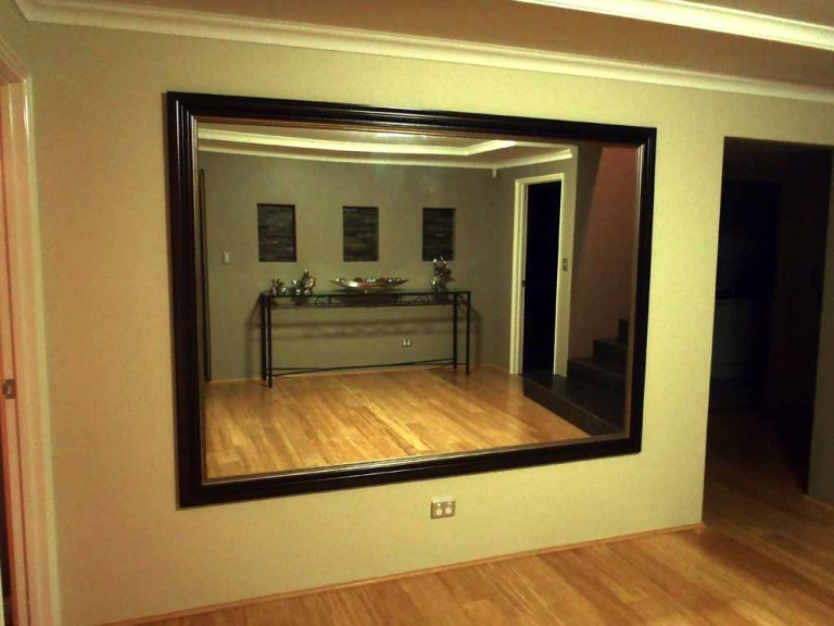 Large Triple Framed Entry Mirror