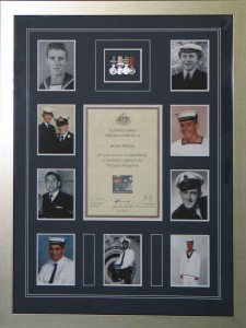 Naval Photo Medal Collage