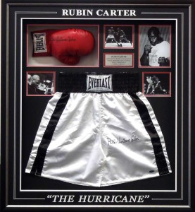 Framed Rubin Carter Shorts Glove