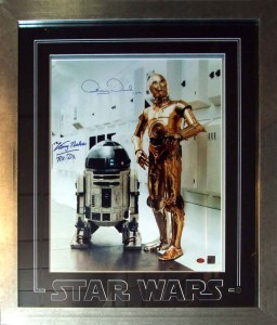 Signed Star Wars Photo