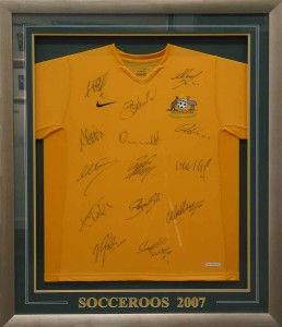 Socceroos Framed Shirt
