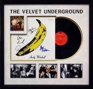 Framed Velvet Underground Album