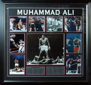Framed Ali-Photo-Collage