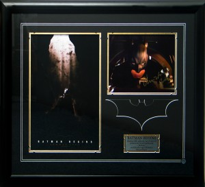 Framed Batman-Christian-Bale-Signed-Photo-Poster-Collage