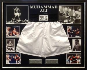Framed-Muhammad-Ali-Shorts
