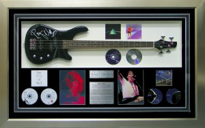 Framed Roger-Waters-Guitar