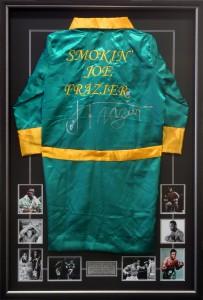 Framed Smokin-Joe-Frazier-Boxing-Gown