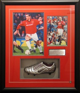 Framed Soccer-Boot-Photo-Collage